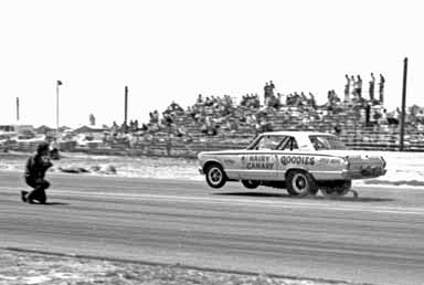 no 2 b 1967 fremont Hairy Canary with Steve on track and photographers went anywhere they wanted copy