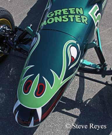 no 9 b green monster nose